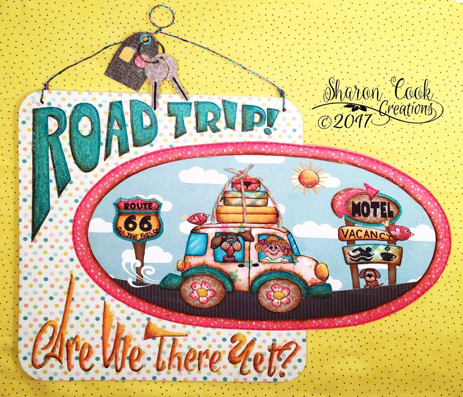How to scrapbook a road trip - Pull Out Those Bits And Pieces Of Scrapbook Paper You Ve Been Saving And Start Planning The Color Scheme For Your Version Of This Project