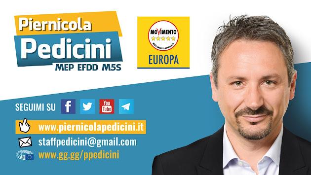 Piernicola PEDICINI Eurodeputato del Parlamento Europeo