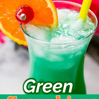 Lime Green Alcohol Drink Recipes.