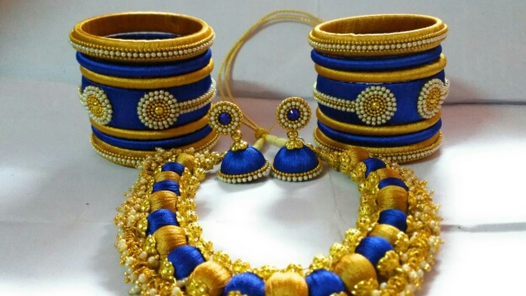9eafec441 Silk thread jewellery - Wholesale and retail Jeweller in Chennai