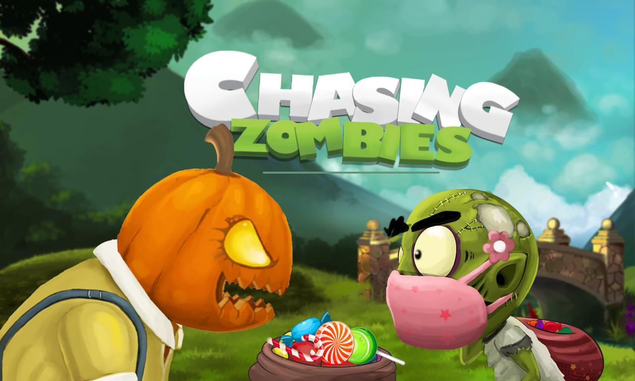 Chasing Zombies– captură de ecran
