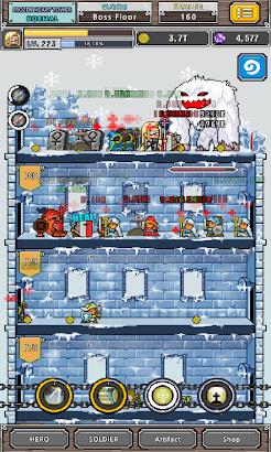 Dot Heroes Ⅱ :Nonstop RPG screenshot