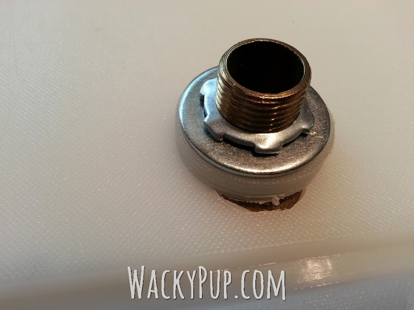 Pin it for later! Amazing RV Shower Mod automatically adjusts temperature! Luxury!