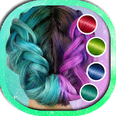 Hair Color Booth App Free