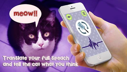 Cat Language Translator Simulator - Talk to Pet 1.3