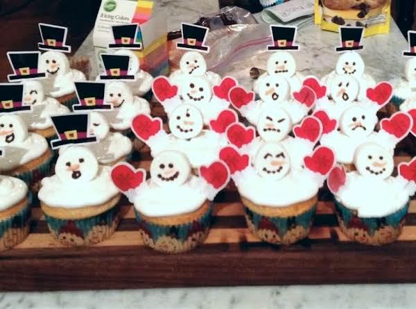 Fluffy Snowmen!