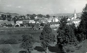 Photo: Mesto Tvrdošín začiatkom 20. storočia.