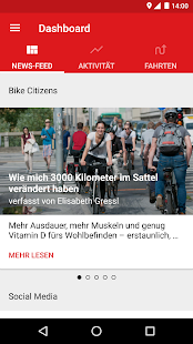 Bike Citizens Fahrrad Navi GPS Screenshot