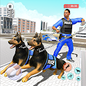US Police Security Dog Crime Chase: Police 3D Dog icon