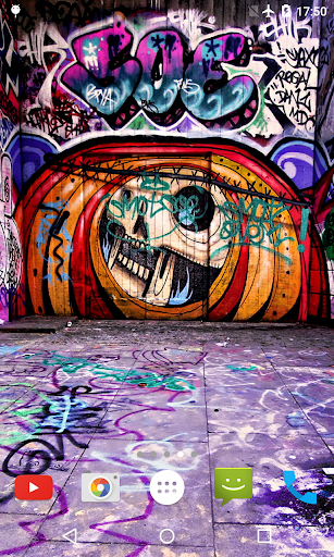 Graffiti 3D Live Wallpaper