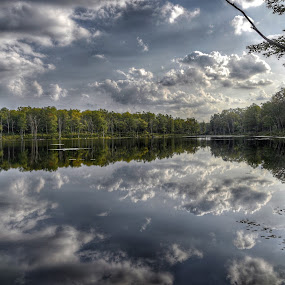 Double Clouds by Diane Ljungquist - Landscapes Cloud Formations (  )