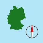 German Grid Ref Compass icon