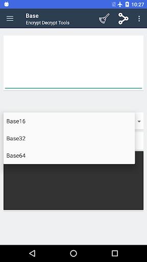 Screenshot 1 Encrypt Decrypt Tools Pro