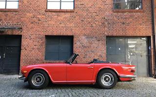 Triumph TR6 Rent Berlin
