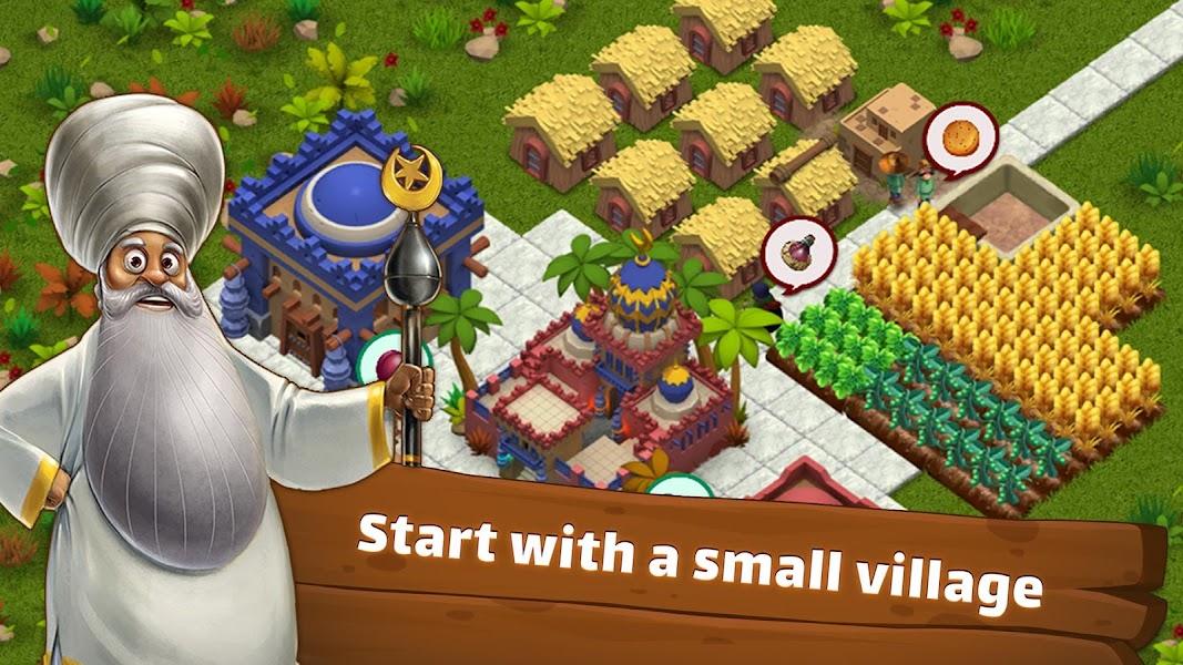 SunCity: City Builder, Farming game like Cityville