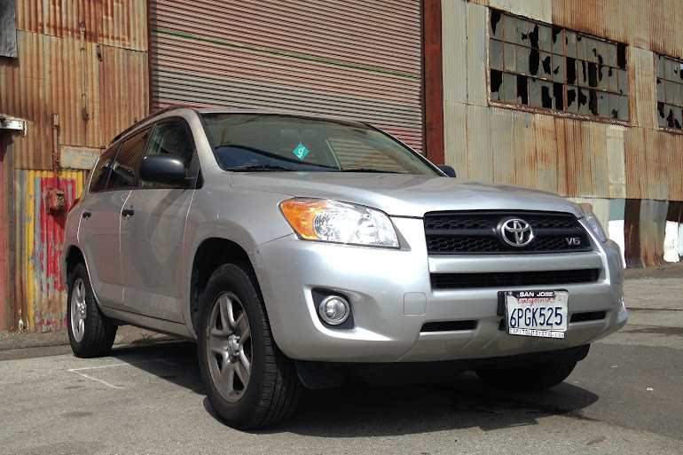 Touchless Car Wash Daly City: Rent A Silver Toyota RAV4 In San Francisco