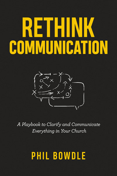 Rethink Communication by Phil Bowdle cover