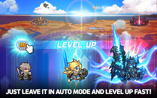 Raid the Dungeon : Idle RPG Heroes AFK or Tap Tap 1.5.3 screenshots 9