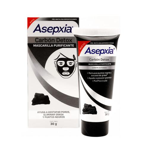Asepxia Mascarilla Facial Antiacne Carbon 30 G