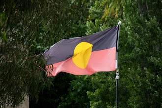Photo: Year 2 Day 227 - Flying the Aborigine Flag