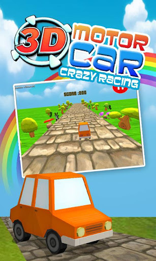 3D Motor Car - Crazy Racing