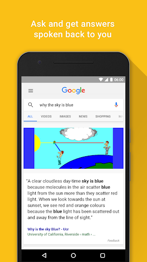 Screenshot 6 for Google's Android app'