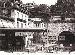 Photo: Lausanne Gare - Lausanne Flon - www.standseilbahnen.ch Standseilbahn Funiculaire Funicular