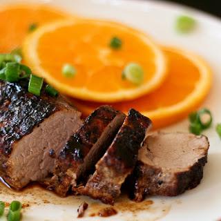 Orange & Five Spiced Pork Tenderloin.