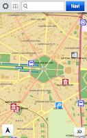 Screenshot of It's NAV India:GPS Navigation
