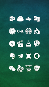 Whicons - White Icon Pack screenshot 3