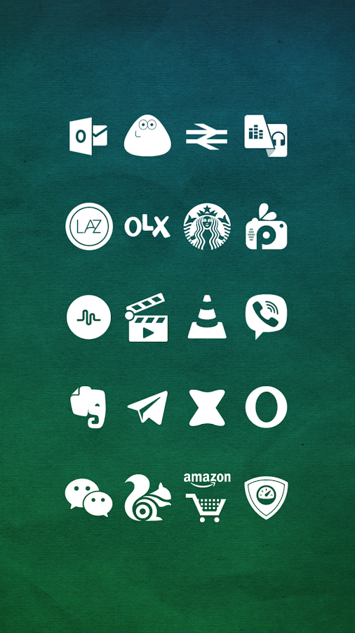 Whicons - White Icon Pack- screenshot