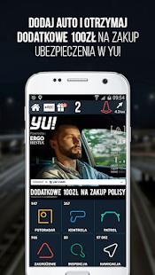 "Yanosik: ""antyradar"", korki, nawigacja, kamera Screenshot"