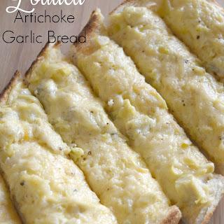Loaded Artichoke Garlic Bread Recipe