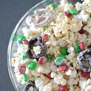 Popcorn Mix For Christmas Recipes