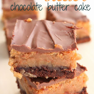 Reese's Chocolate Butter Cake.