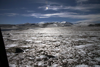 Photo: Высокогорное плато Мунх-Хайрхан. Мы на высоте 3000 метров, вдали вершина 4362 м.