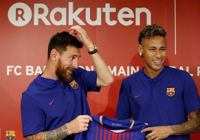 """Neymar kondigt toptransfer(s) aan: """"Volgend seizoen samen met Messi in één team"""""""