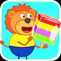 Lion Family - Happy Kids icon