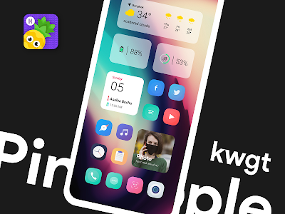 Pineapple KWGT 4.4 (Paid)