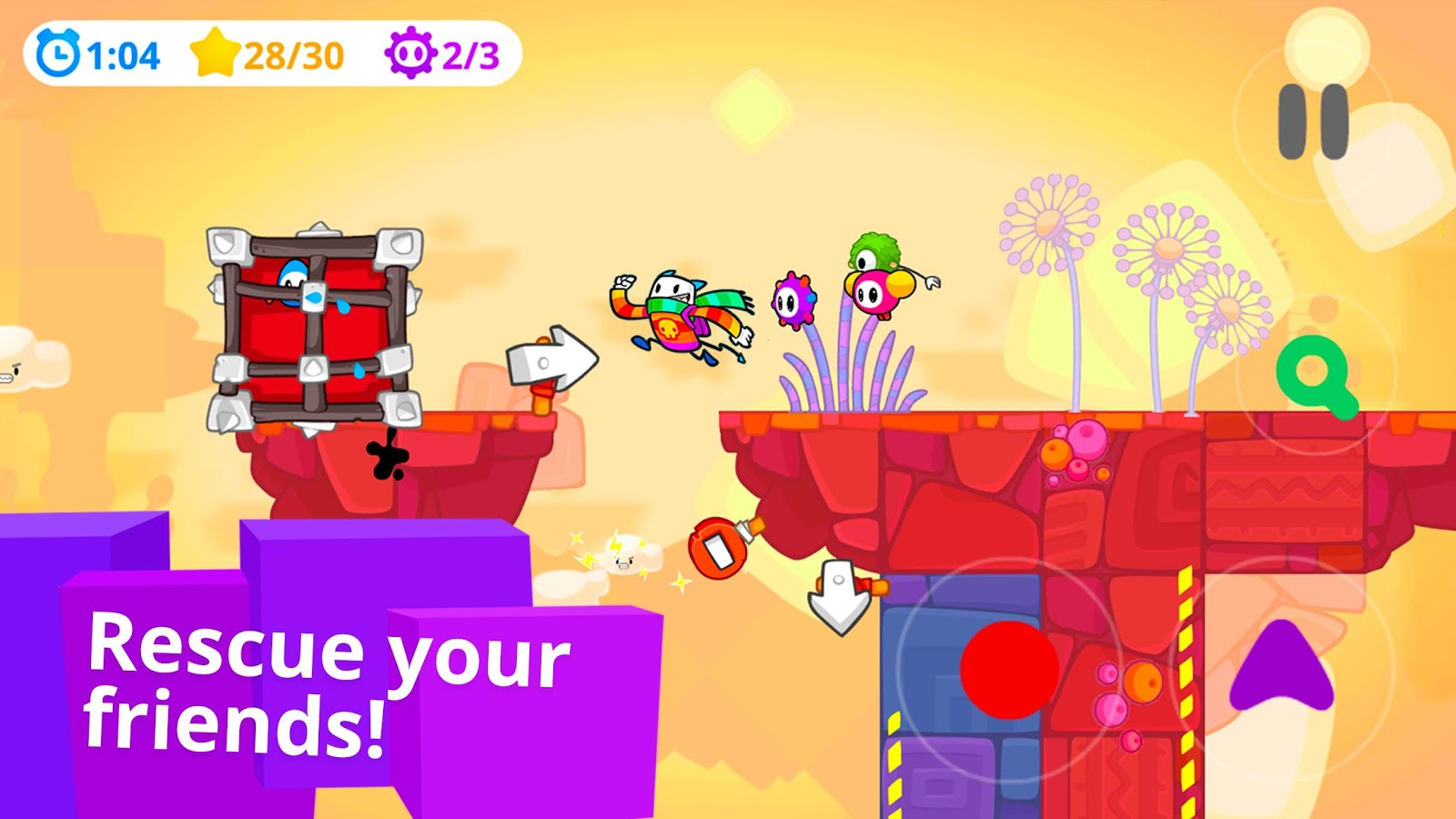CATTCH: Insane Platform Action- screenshot