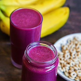 Ginger Mixed Berry Smoothie