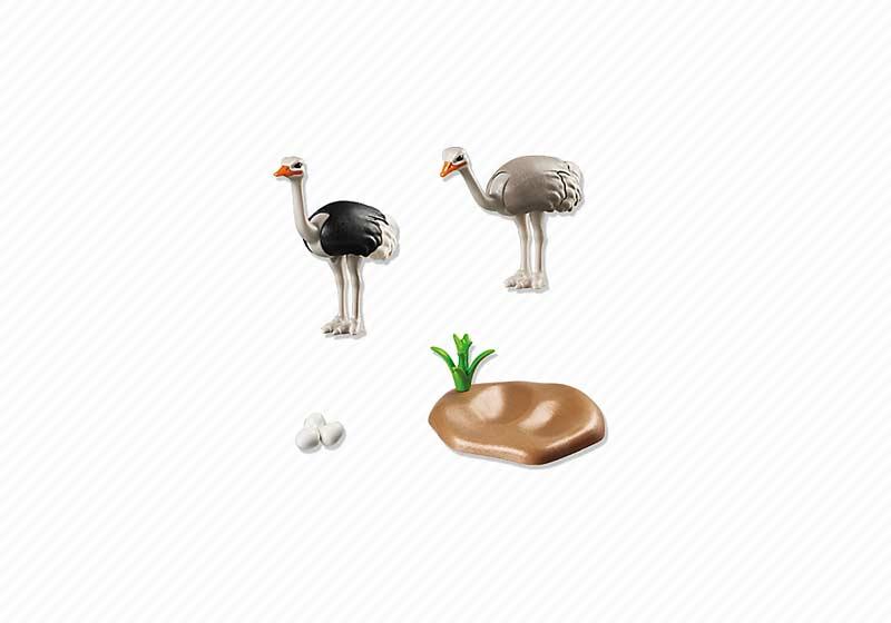 Playmobil® 6646 Familia de Avestruces