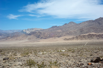 Photo: Lippicott Road - there is The Racetrack playa