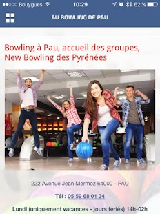 anniversaire bowling pau