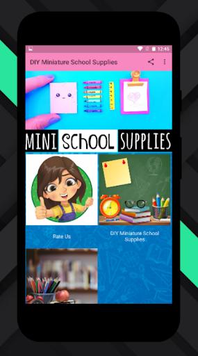 DIY Miniature School Supplies Offline  screenshots 1