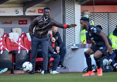 """Mbaye Leye amer : """"Le matériel à disposition est peut-être insuffisant pour un club comme le Standard"""""""