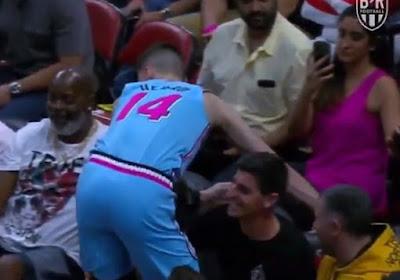 🎥 Thibaut Courtois réalise un arrêt... en plein match de NBA
