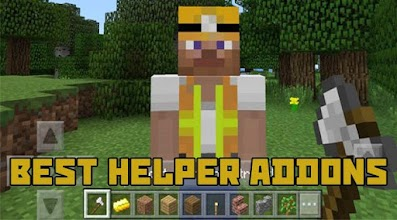 Helper Addon Minecraft PE MCPE 1 2 latest apk download for