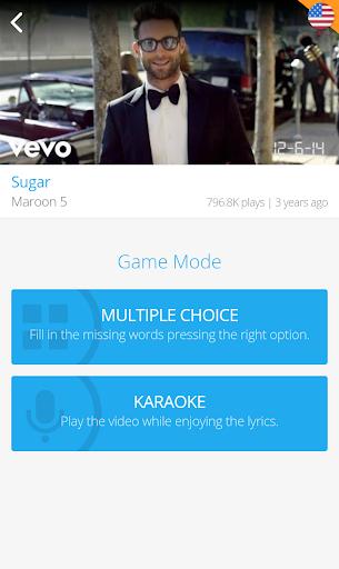 LyricsTraining - Learn English, Spanish, French... 0.9.4 screenshots 4