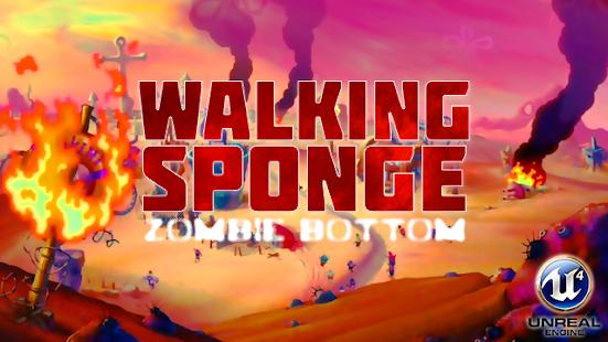 Zombie Bottom - Walking Sponge games - náhled